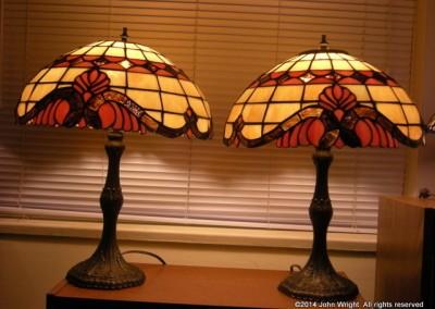 john-wright-04-Baroque-Tiffany-Style-Twin-Lamps