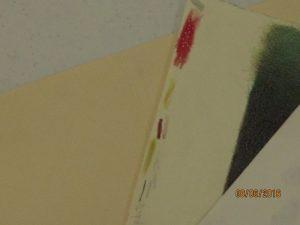 Tom shows varied pencil strokes